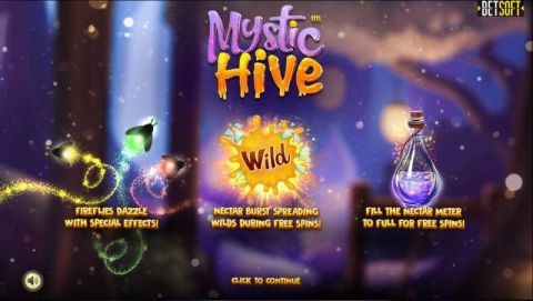 Mystic Hive Fun Slots by BetSoft with 5 Reel and 30 Line