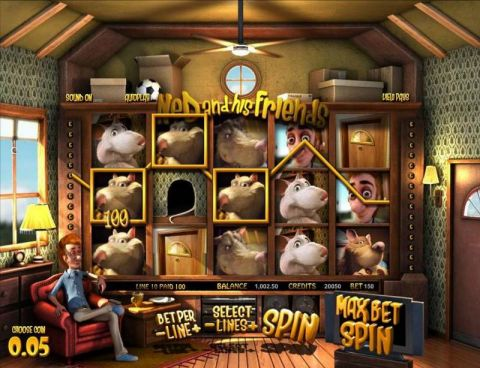 Ned and his Friends Fun Slots by BetSoft with 3 Reel and 30 Line