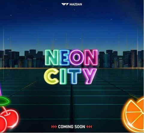 Neon City Fun Slots by Wazdan with 5 Reel and