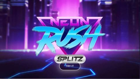 Neon Rush Fun Slots by Yggdrasil with 5 Reel and 10 Line