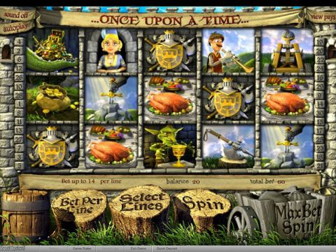Once Upon a Time Fun Slots by BetSoft with 5 Reel and 30 Line