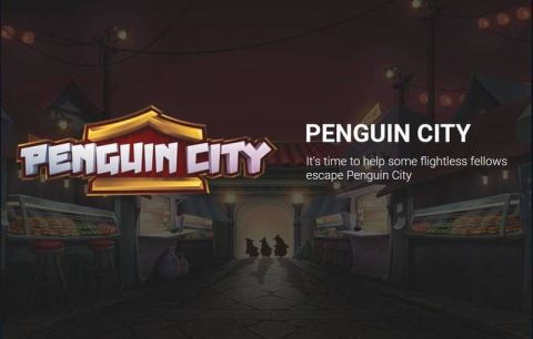 Penguin City Fun Slots by Yggdrasil with 5 Reel and