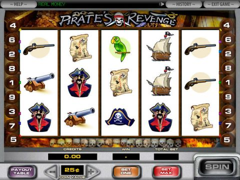 Pirate's Revenge Fun Slots by DGS with 5 Reel and 9 Line