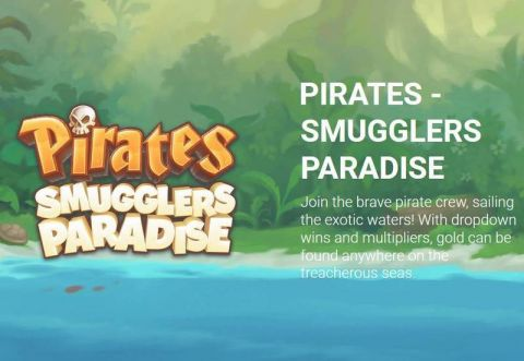 Pirates - Smugglers Paradise Fun Slots by Yggdrasil with 5 Reel and