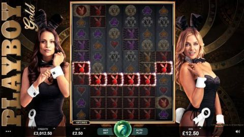 Playboy Gold Fun Slots by Microgaming with 6 Reel and 100 Line