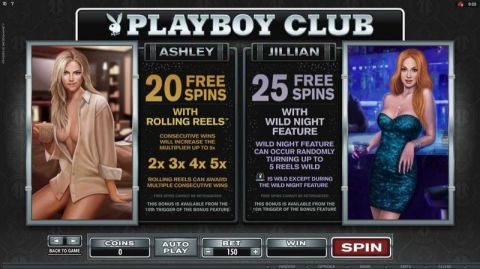 Playboy Fun Slots by Microgaming with 5 Reel and 243 Line