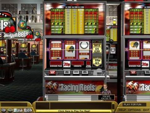 Racing Reels Fun Slots by Boss Media with 3 Reel and 1 Line