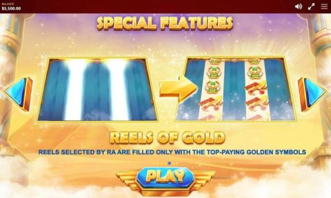 RA's Legend Fun Slots by Red Tiger Gaming with 5 Reel and 40 Line