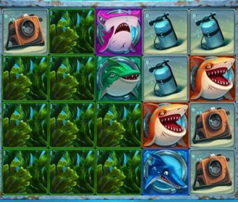Razor Shark Fun Slots by Push Gaming with 5 Reel and 20 Line