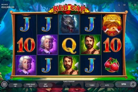 Red Cap Fun Slots by Endorphina with 5 Reel and 20 Line