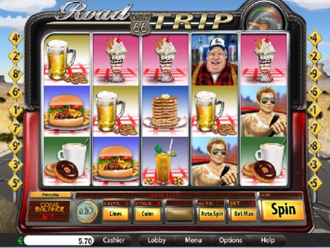Road Trip Fun Slots by Saucify with 5 Reel and 9 Line