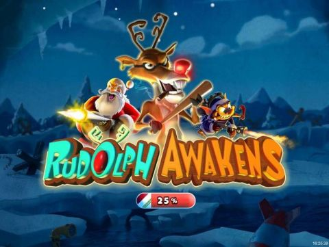 Rudolf Awakens Fun Slots by RTG with 5 Reel and 30 Line