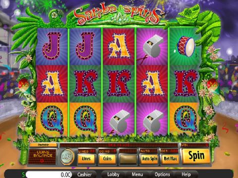 Samba Spins Fun Slots by Saucify with 5 Reel and 50 Line