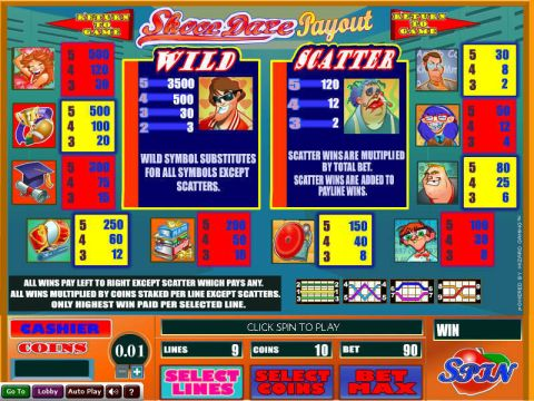 Skool Daze Fun Slots by Wizard Gaming with 5 Reel and 9 Line