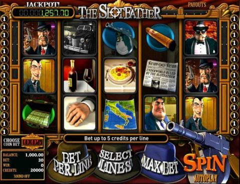 Slotfather Fun Slots by BetSoft with 5 Reel and