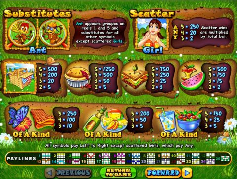 Small Fortune Fun Slots by RTG with 5 Reel and 25 Line