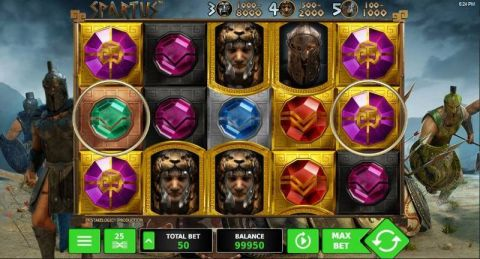 Spartus Fun Slots by StakeLogic with 5 Reel and 25 Line