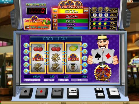 Spin Magic Fun Slots by Microgaming with 3 Reel and 5 Line