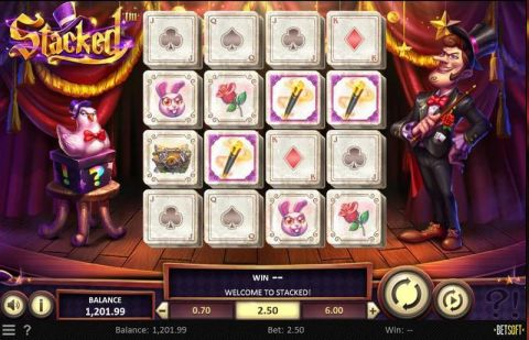 Stacked Fun Slots by BetSoft with 4 Reel and 20 Line