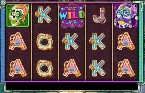 Sugar Skulls Fun Slots by Booming Games with 5 Reel and 20 Line