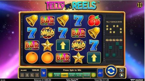 Telly Reels Fun Slots by Wazdan with 5 Reel and 20 Line