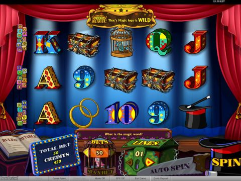 That's Magic Fun Slots by bwin.party with 5 Reel and 30 Line