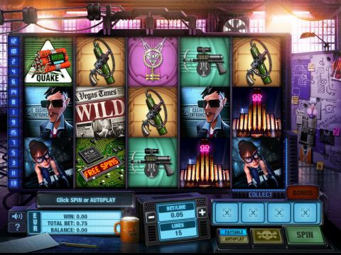 The Casino Job Fun Slots by GTECH with 5 Reel and 15 Line