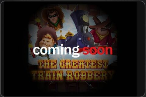The Greatest Train Robbery Fun Slots by Red Tiger Gaming with 5 Reel and 40 Line