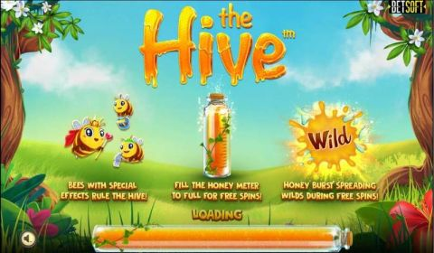 The Hive Fun Slots by BetSoft with 5 Reel and 30 Line