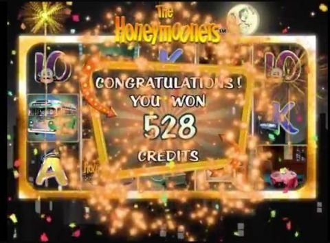 The Honeymooners Fun Slots by 2 by 2 Gaming with 5 Reel and