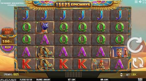 The Mummy EPICWAYS Fun Slots by Fugaso with 6 Reel and