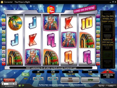 The Price Is Right Fun Slots by 888 with 5 Reel and 25 Line