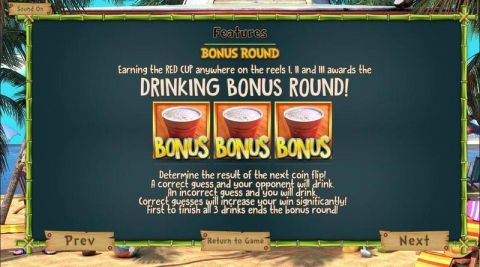 The Tipsy Tourist Fun Slots by BetSoft with 5 Reel and 20 Line