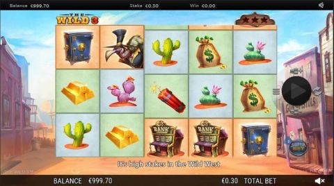 The Wild 3 Fun Slots by NextGen Gaming with 5 Reel and 10 Line