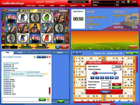 Thor's Thunder Mini Fun Slots by Virtue Fusion with 5 Reel and 20 Line