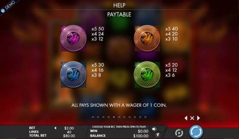 Tiger Temple Fun Slots by Genesis with 5 Reel and 40 Line