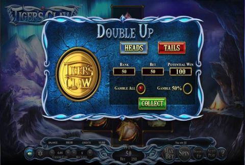 Tiger's Claw Fun Slots by BetSoft with 5 Reel and 720 lines