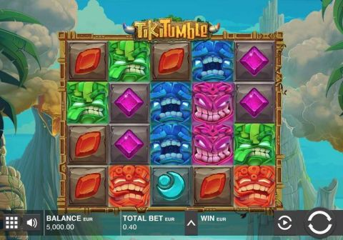 Tiki Tumble Fun Slots by Push Gaming with 5 Reel and 20 Line