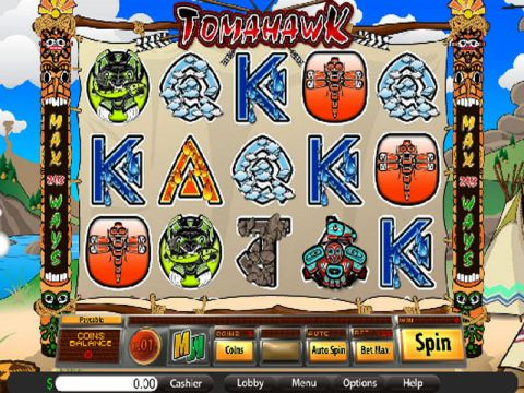 Tomahawk Fun Slots by Saucify with 5 Reel and 243 Line