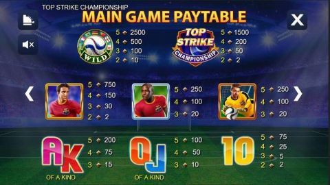 Top Strike Championship Fun Slots by NextGen Gaming with 5 Reel and 20 Line