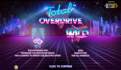 Total Overdrive Fun Slots by BetSoft with 3 Reel and 5 Line
