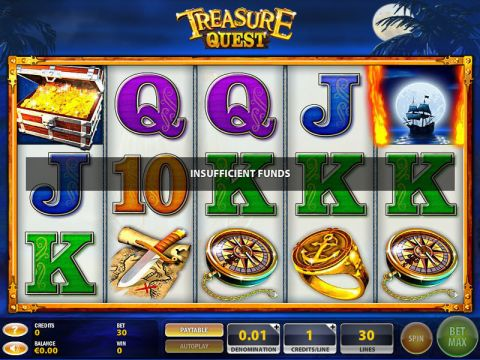 Treasure Quest Fun Slots by GTECH with 5 Reel and 30 Line