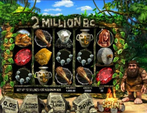 Two Million BC Fun Slots by BetSoft with 5 Reel and 30 Line