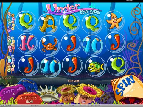 Under the Sea Fun Slots by bwin.party with 5 Reel and 30 Line