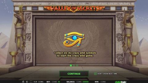 Valley of Secrets Fun Slots by StakeLogic with 5 Reel and 243 Line