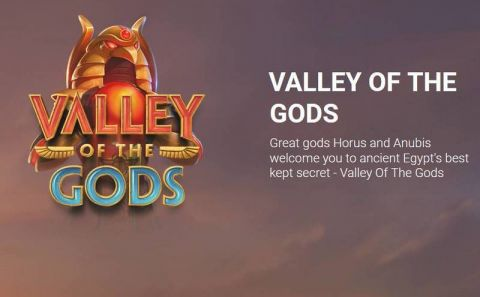 Valley Of The Gods Fun Slots by Yggdrasil with 5 Reel and 3125 Way