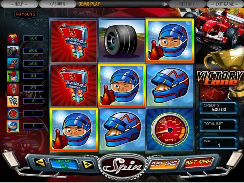 Victory Lane Fun Slots by DGS with 3 Reel and 3 Line