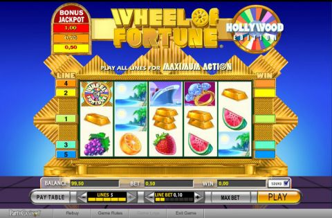 Wheel of Fortune Fun Slots by IGT with 5 Reel and 5 Line