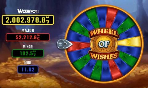 Wheel of Wishes Fun Slots by Microgaming with 5 Reel and 10 Line