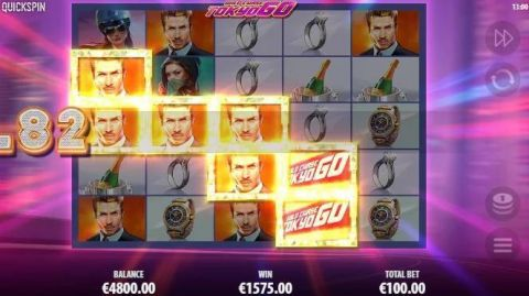 Wild Chase Fun Slots by Quickspin with 5 Reel and 259 ways